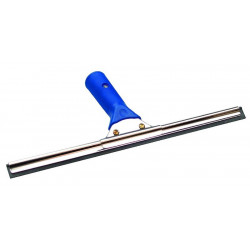LEWI Window wiper complete with rail, hard wiper rubber and soft grip, 35 cm