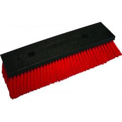 QLEEN Cleaning brush for solar panels, red, 40 cm