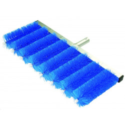 QLEEN Spare slat-brush holder with 8 brushes for blinds cleaning, 55 mm