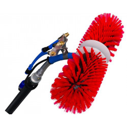 ROTAQLEEN CLASSIC Rotating brush, red, 40 cm