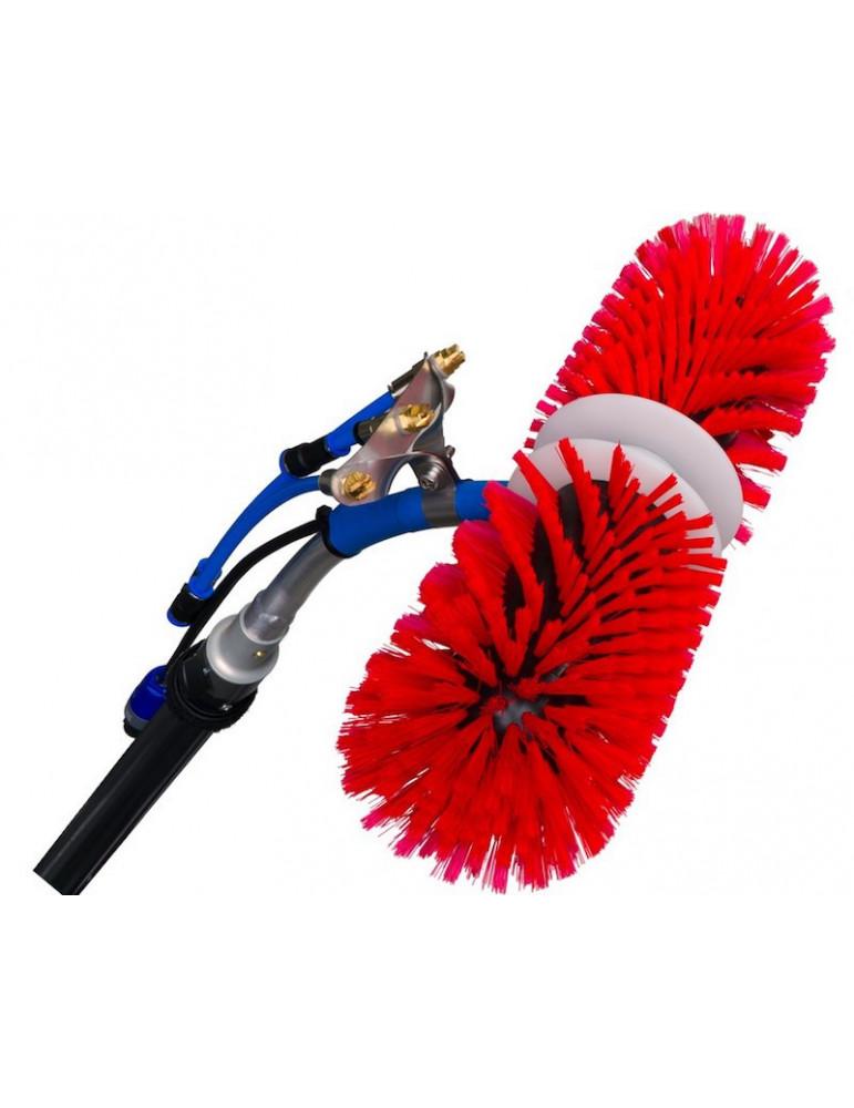 ROTAQLEEN CLASSIC Rotating brush, red, 60 cm