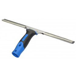 """LEWI """"Nomic"""" ergonomic window wiper, complete with rail, hard wiper rubber and new spring, 15 cm"""