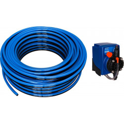 QLEEN Single hose blue/black, Ø 8, 50m