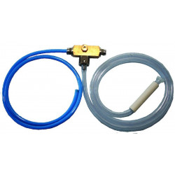 Injector with blue hose, 1m