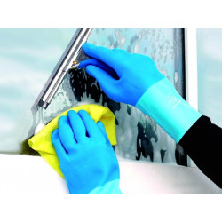 LEWI Glove for glass cleaning, size S