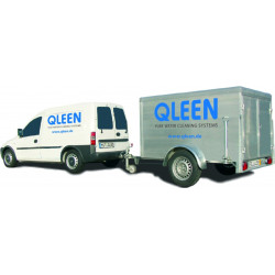 QLEEN Single fitting into a van
