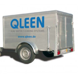 QLEEN Single axle trailer, without equipment