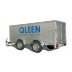 QLEEN Twin axle trailer, without equipment