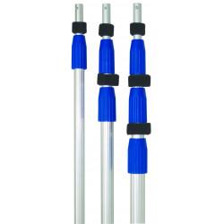 QLEEN Telescopic poles with strengthened inner tube 2 x 125 cm