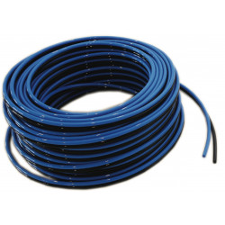 QLEEN Duo-hose blue/black, Ø 10, 50m